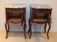Pair Of French Walnut Bedside Cabinets (2 of 10)