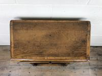 Vintage Oak Side Table with Drawer (8 of 11)