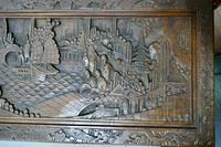 Carved Oriental Camphor Wood Chest (5 of 8)