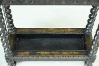Victorian Carved Oak Stick Stand (5 of 10)