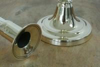 Pair of English 18th Century Georgian Seamed Brass Candlesticks c.1790 (4 of 6)
