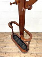 Victorian Mahogany Tree Shaped Hall Stand with Four Arms (7 of 10)
