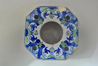 Continental Faience Tin Glazed Inkwell (2 of 5)
