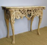 Early 19th Century Italian Console Table Sienna Marble Top (3 of 9)