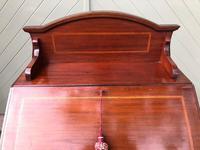 Edwardian Inlaid Mahogany Writing Desk (2 of 10)