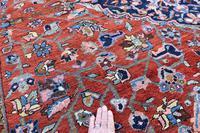 Antique Heriz Carpet 349x265cm (7 of 10)