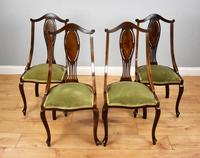 Victorian Mahogany & Inlaid Lounge Suite (17 of 23)