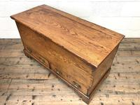 18th Century Elm Mule Chest with Hinged Top (12 of 14)