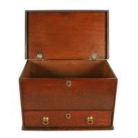 18th Century Oak One Drawer Box (4 of 8)