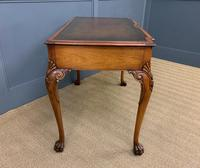 Excellent Queen Anne Style Burr Walnut Writing Table (10 of 16)