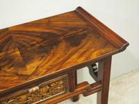 Chinoiserie Mahogany Side Table by Whytock and Reid (6 of 13)