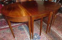 Georgian Mahogany Three Part Dining Table (6 of 10)
