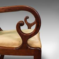 Antique Elbow Chair, English, Mahogany, Carver, Drop-in Seat, Regency c.1820 (11 of 12)