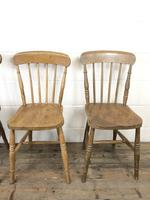 Set of Four Mix & Match Farmhouse Chairs (7 of 10)