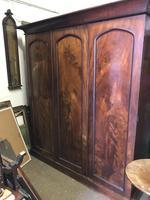 3 Door Victorian Wardrobe