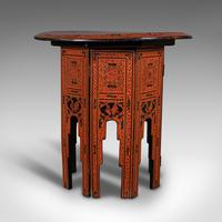 Antique Occasional Table, Oriental, Coffee, Lamp, Stand, Victorian c.1850 (2 of 12)