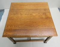 Arts & Crafts Oak Coffee Table (7 of 7)