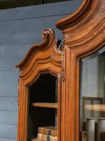 Wonderful French Walnut Bookcase or Cabinet (11 of 25)
