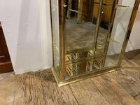 Pair of 1920s Brass Shop Display Cabinets (6 of 8)