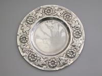 Victorian Arts & Crafts Hand Raised Silver Exhibition Dish by W G Connell, London, 1893 (3 of 10)