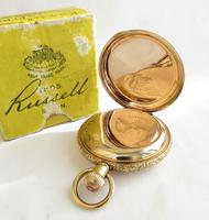 Antique Thomas Russell Full Hunter Pocket Watch (2 of 5)