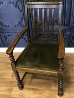 Oak Armchair (2 of 7)