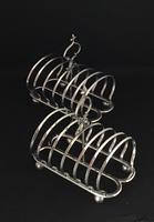 Pair of Victorian  Silver Plated Toast Racks c.1870 (4 of 5)
