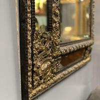 Large 19th Century French Repousse Mirror (5 of 7)