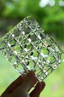 Victorian Hobnail Cut Glass Lidded Pot (5 of 12)