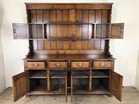 Large 20th Century Georgian Style Oak Dresser (10 of 12)