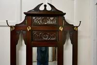 Victorian Mahogany Hall Stand (6 of 8)