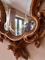 Fine English 18th Century Antique Gilt Mirror Pier Glass (10 of 10)
