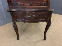 Maple and Co. Large Mahogany Cylinder Desk (25 of 25)