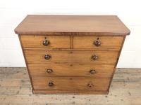 Victorian Mahogany Straight Front Chest of Drawers (2 of 11)