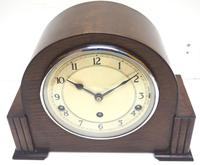 Fine Garrard Art Deco Mantel Clock 8 Day Westminster Chime Mantle Clock (6 of 11)