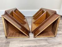 Pair of Mid Century G Plan E Gomme Pyramid Teak Open Corner Bookcases (35 of 38)