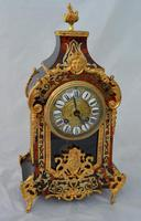 Fine Quality French Boulle Mantel Clock