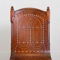 Pair Attractive Victorian Pierced Bentwood Side Chairs (9 of 14)
