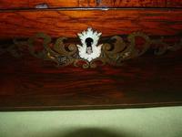 Fine Quality Inlaid Rosewood Writing Box c.1870 (9 of 11)