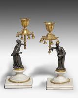 Pair of Regency Period Gilt Bronze Candlesticks (5 of 5)