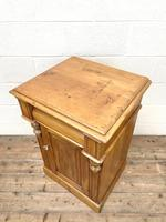 Two Similar Antique Pine Bedside Cupboards (8 of 10)