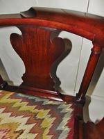 George II Red Walnut Corner Chair (5 of 7)