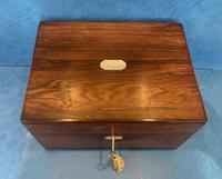 Victorian Rosewood  Box c.1840 (5 of 12)