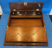 William IV Rosewood Lap Desk with Mother of Pearl Inlay (11 of 12)