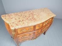 French Louis XV Style Marble Top Commode (4 of 13)