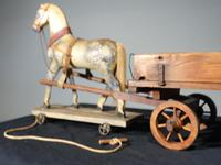 Attractive Late 19th Century German Horse & Cart (2 of 8)