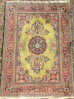 Good Antique Kashan Carpet Room Size