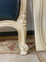 Original French Roll End Style Double Bed Frame (10 of 12)
