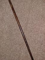 Antique Repousse Gold Plate Walking / Dress Cane with Derby Handle - 90cm (3 of 14)