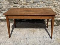 Small Antique French Elm Farmhouse Table (2 of 22)